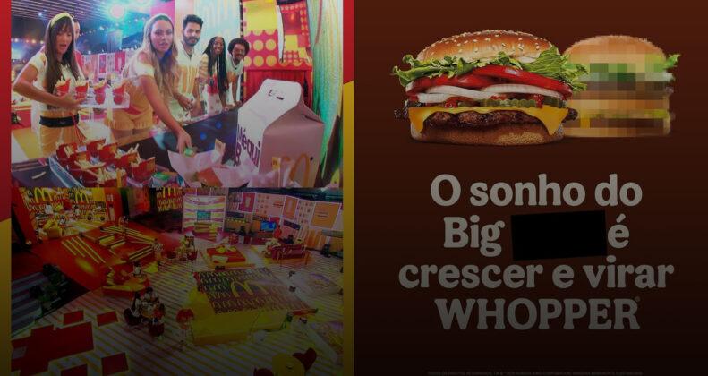 Duelo dos gigantes dos hambúrgueres: quem irá vencer essa disputa?